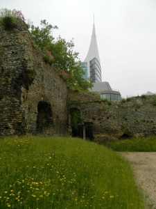 Remains of the dormitory, Reading Abbey