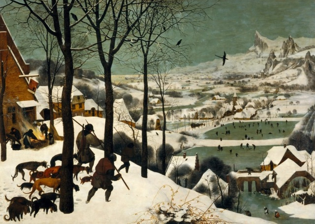 Pieter Bruegel the Elder, Hunters in the Snow. 1565