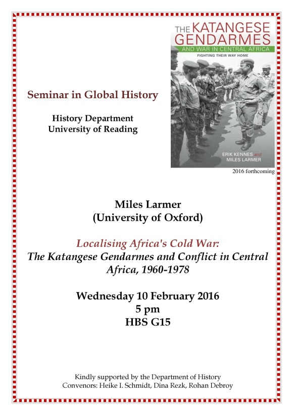 Seminar in Global History 10.02.16 Flyer