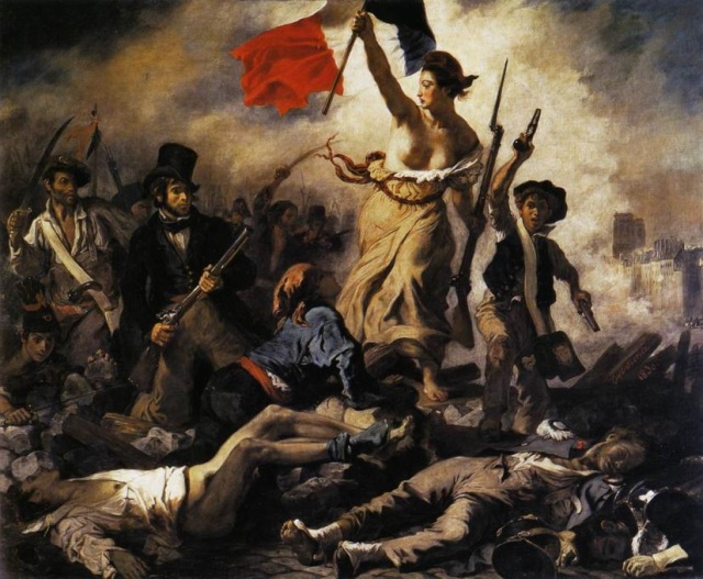 Simon Lee - Delacroix's Liberty Leading the People 2