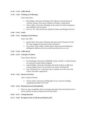 Why My Research Matters, 22nd April 2016 - PROGRAMME-p2