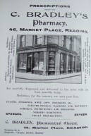 18. advert - C Bradley pharmacy