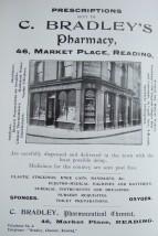 18. advert - C Bradley pharmacy
