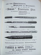 19. advert - Farrer & Sons stationary