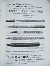 19. advert - Farrer & Sons stationary