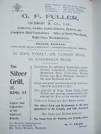 21. advert G. F. Fuller cetering