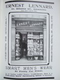 23. advert - Ernest Leonard menswear