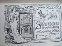 26. advert - Standens typewriters and copyng office