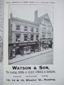 29. advert - Watson & Son china and glass