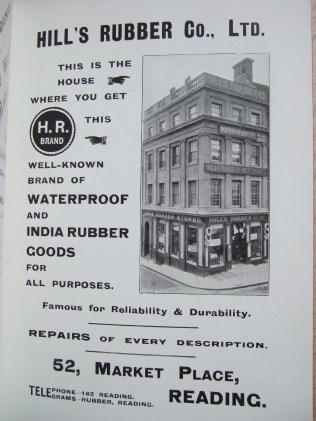 30. advert - Hills Rubber Co. Ltd. indian rubber goods
