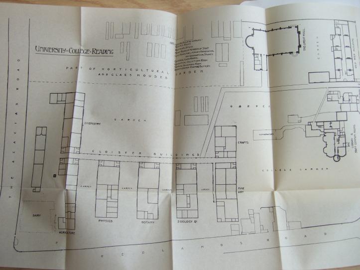9. plan of London Road campus