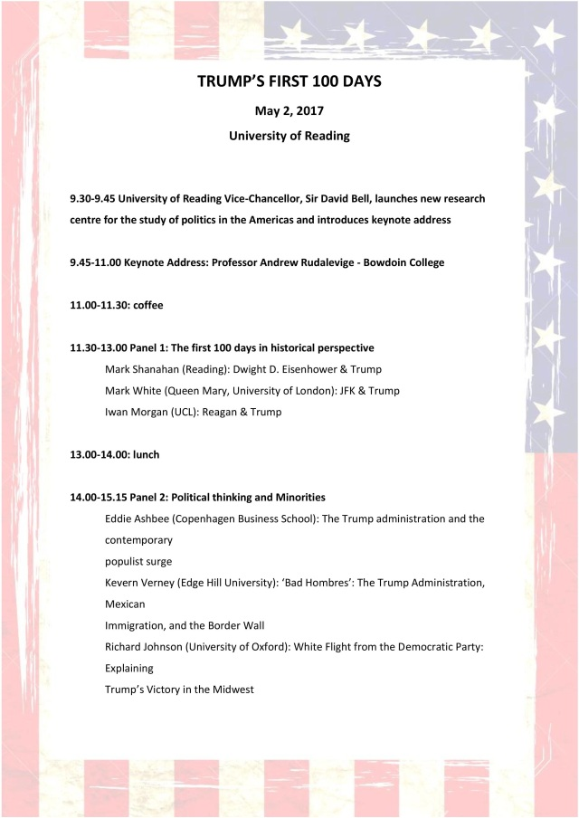 Conference Programme - with flag 1