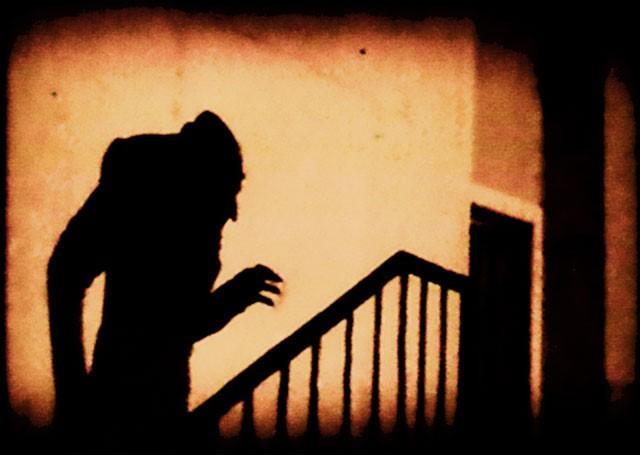 3. Perhaps the most iconic scene from Nosferatu (1922) via Wikimedia