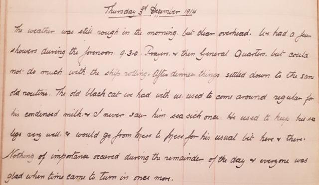 3rd December 1914