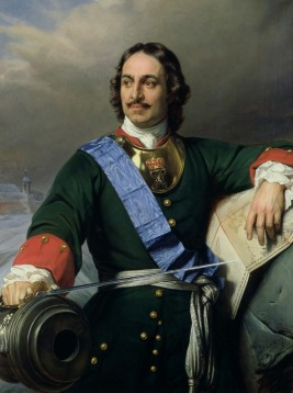 Delaroched, Peter I the Great, 1838