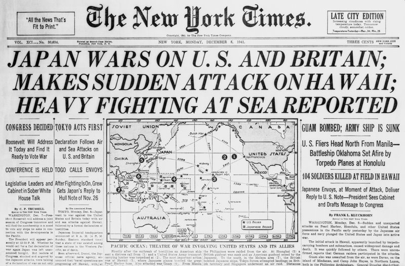 Attack on pearl harbor research paper