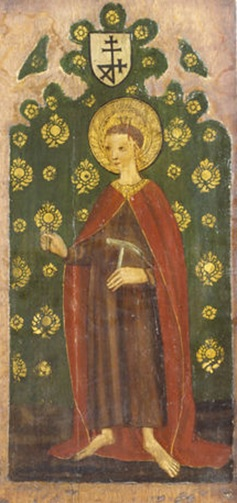 Rood Screen panel showing William of Norwich (d. 1144), V&A Collections